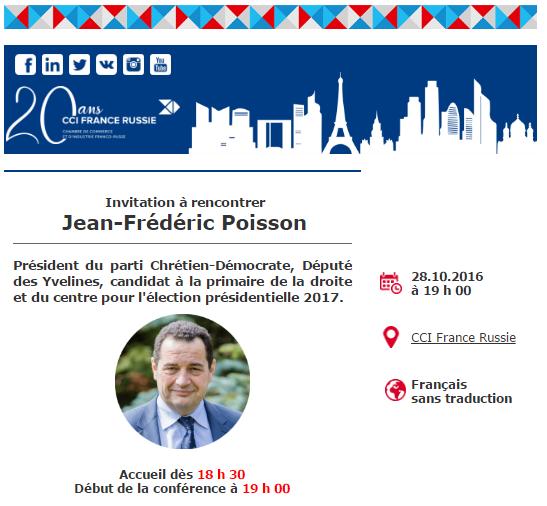 Dissonance for Chambre de commerce franco russe